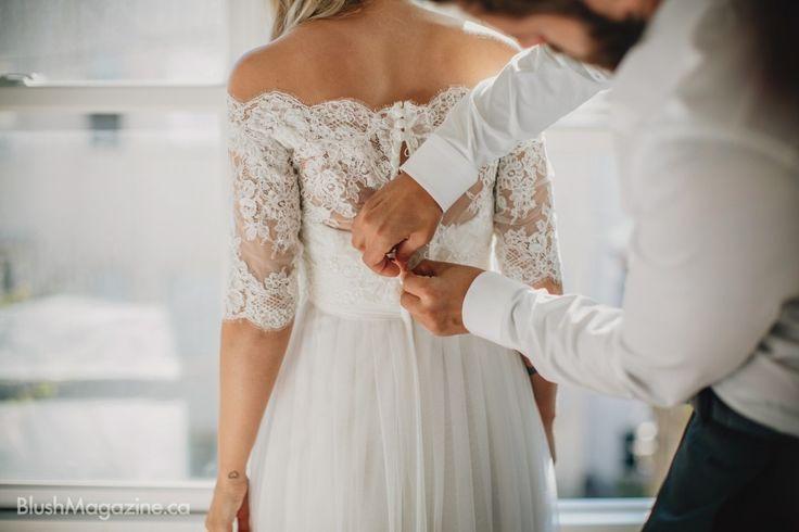 Nicole & Jon's Sutro Forest Wedding: Bride & Groom Getting  Ready Together, Wedding Day Get Ready, Wedding Photos
