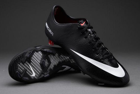 Nike Heren Voetbalschoenen - Nike Mercurial Vapor IX - Firm Ground - Harde Grasvelden - Zwart