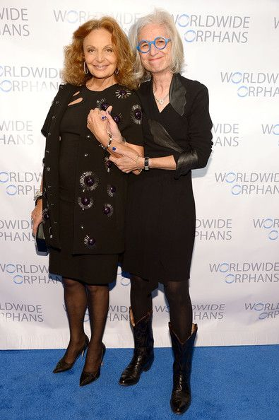 Diane von Furstenberg - Arrivals at the Worldwide Orphans Gala
