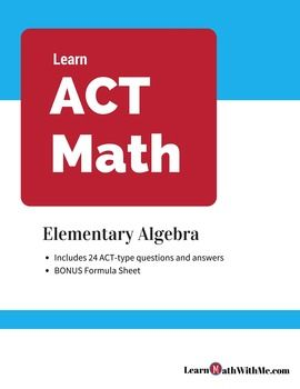 The 29 best act math prep images on pinterest maths mathematics act math prep elementary algebra questions and answers set fandeluxe Image collections
