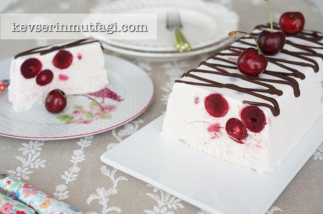 Vişneli Parfe Tarifi   Kevserin Mutfağı - Yemek Tarifleri