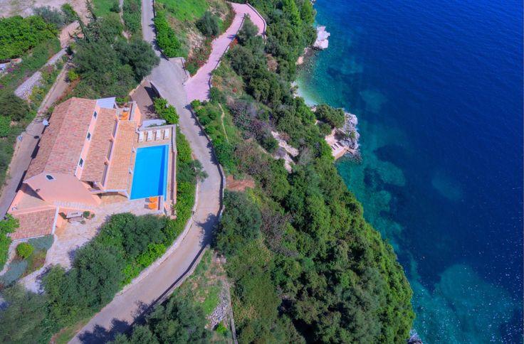 Villa Domina in Corfu #BeeHomey #Greece #LuxuryVillas