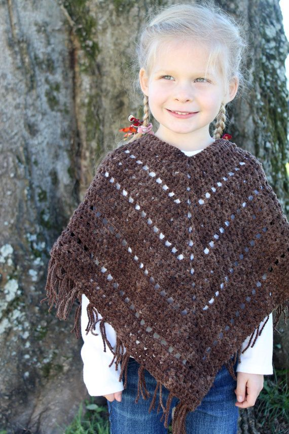 Hey, I found this really awesome Etsy listing at https://www.etsy.com/ca/listing/264093756/crochet-poncho-pattern-girls-women