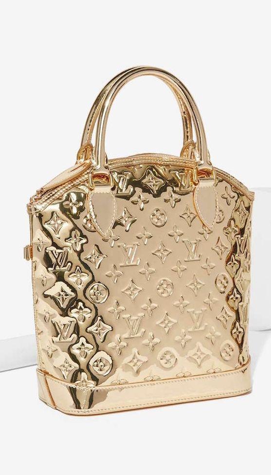 Gold Louis Vuitton Handbag