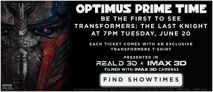 Search for screenings / showtimes and book tickets for Transformers: The Last Knight. See the release date and trailer. The Official Showtimes Destination brought to you by Paramount Pictures