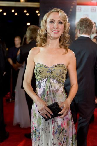 Lisa McCune at the TV Week Logie Awards 2008