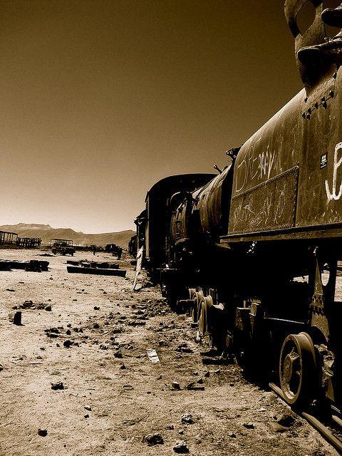 Cementerio de trenes | Flickr: Intercambio de fotos