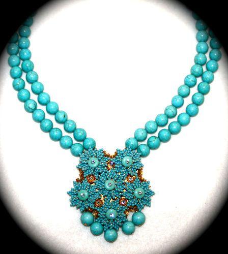 Stanley Hagler N Y C Necklace Vintage Glass Beads Seed Beads Part of Parure | eBay