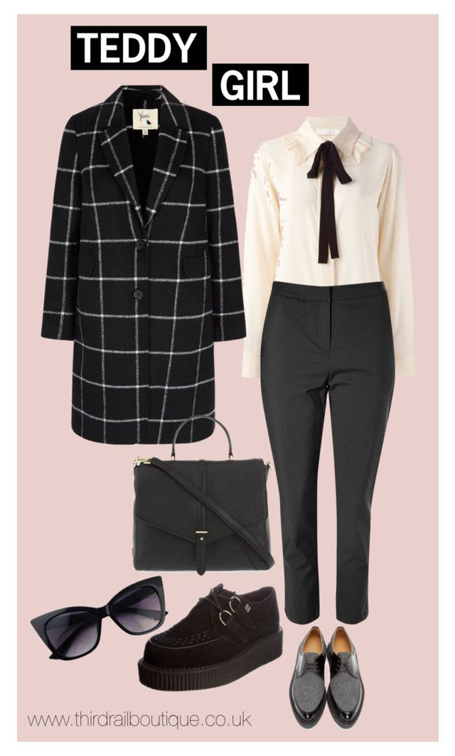 Teddy Girl by thirdrailboutique on Polyvore featuring Chloe, Yumi, Glamorous, Flamingos, Tory Burch