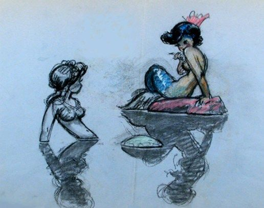 peter pan mermaid concept art ✤ || CHARACTER DESIGN REFERENCES | キャラクターデザイン •…