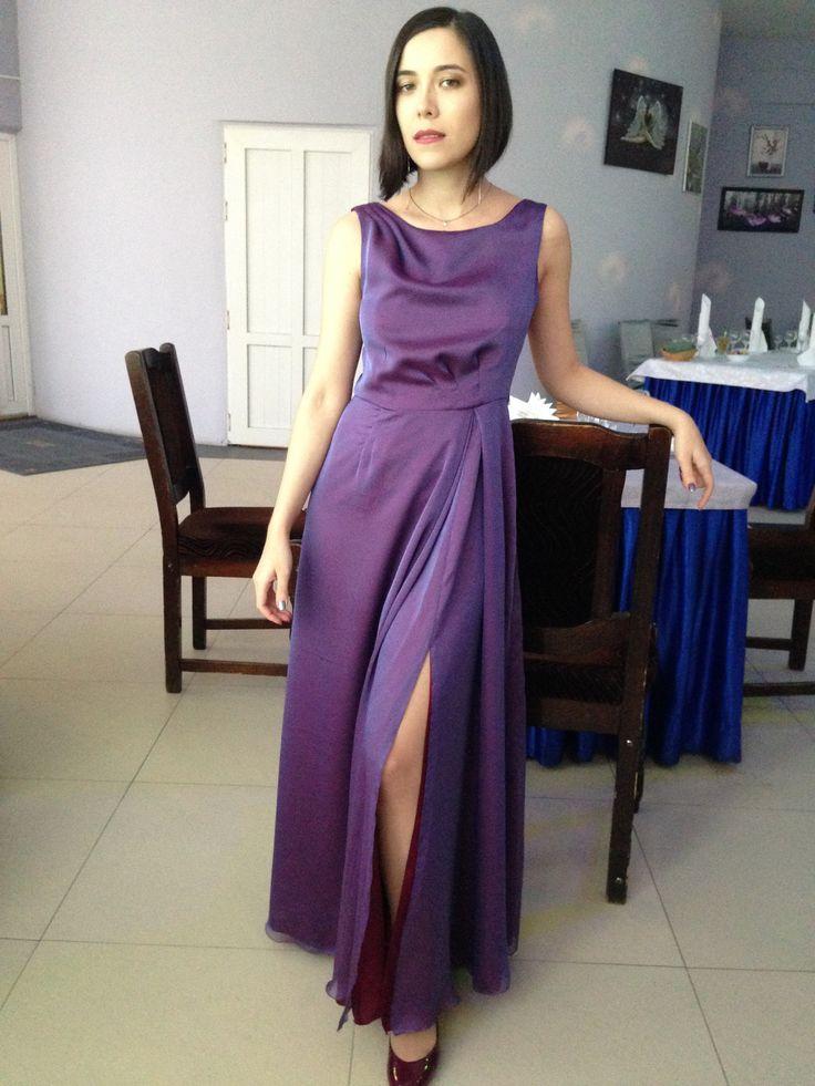 Сиренево-пурпурный дуохром