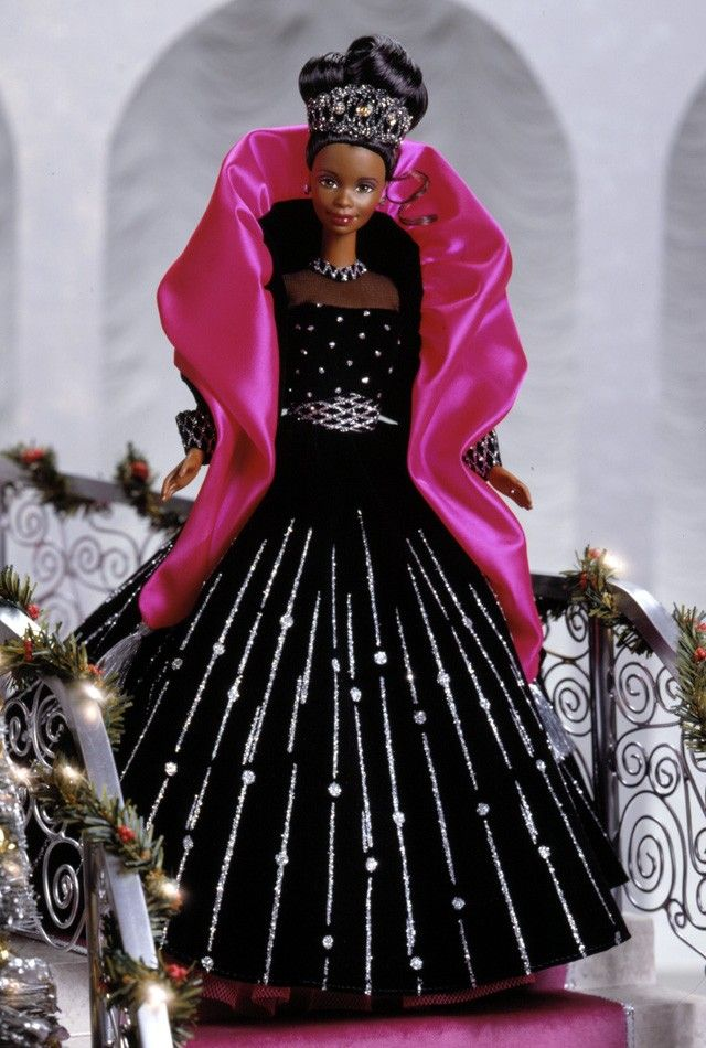 1998 Happy Holidays 174 Barbie 174 Doll Barbie Collector