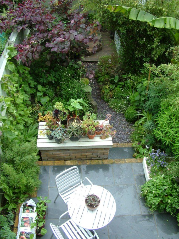 Beautiful backyard garden pinterest backyards for Beautiful small gardens