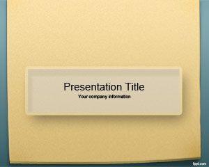 Plantilla PowerPoint de Notas para Recordatorio es un diseño de Microsoft PowerPoint con fondo de diapositiva gratis para descargar para sus presentaciones de educación así como también para presentaciones de secretarias o de tomar notas en la clase #educacion #powerpoint: Sticky Note