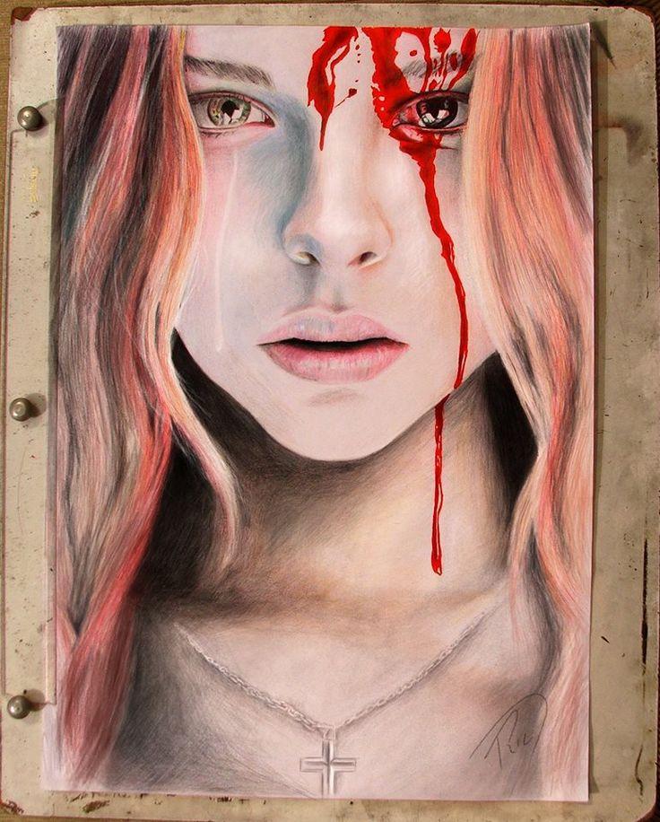 Carrie - A Estranha (Carrie (novel) (Chloë Grace Moretz)