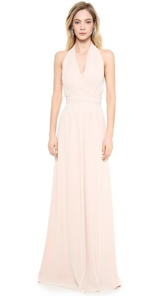 Joanna August Amber Halter Wrap Dress-ladies I found this on shopbop, could be a good bridesmaid choice