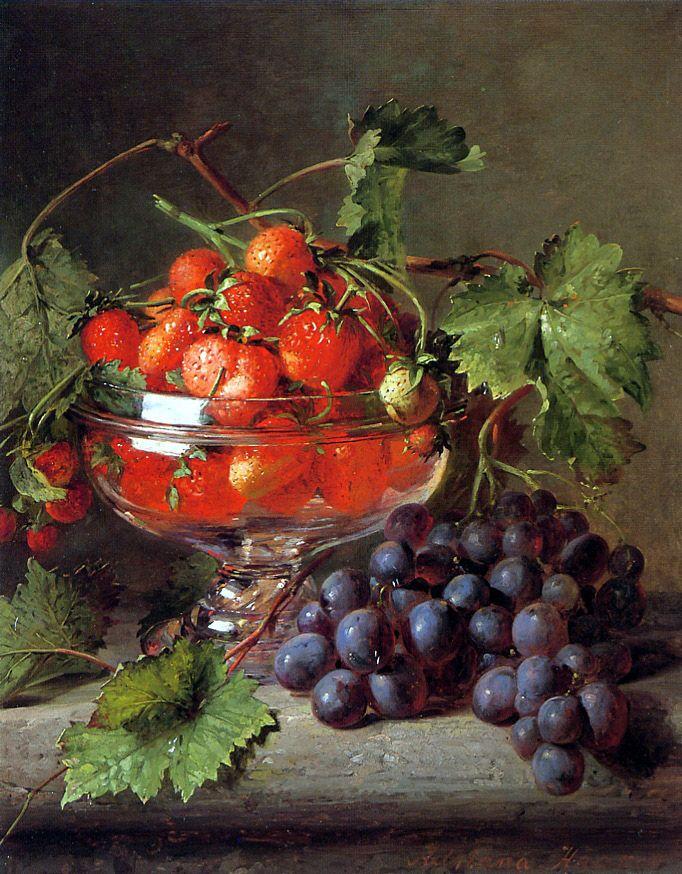 Мастер натюрморта Adriana-Johanna Haanen (Dutch Painter, 1814-1895)