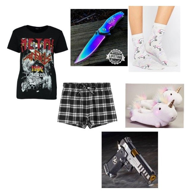 """""""14 (book)"""" by midnighthillzy on Polyvore featuring Boohoo and ASOS"""