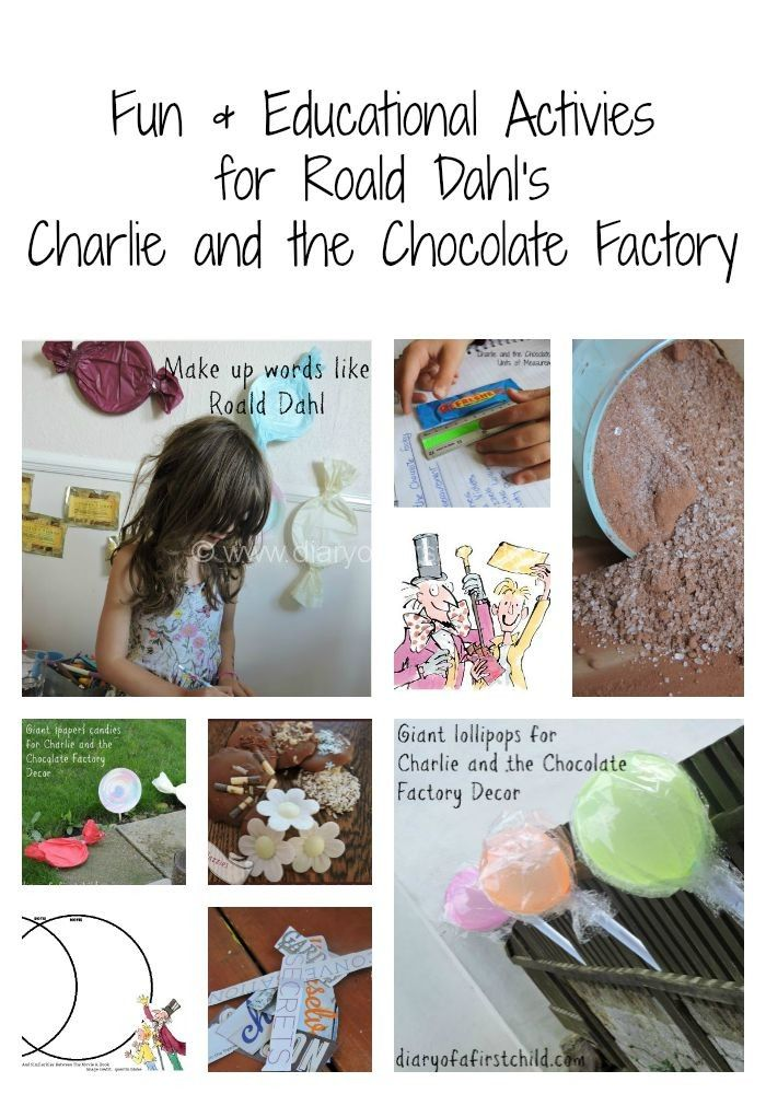 Roald Dahl's Charlie And The Chocolate Factory | Diary of a First Child