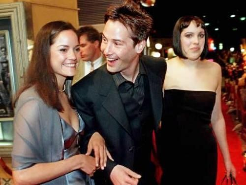 Keanu Reeves, Kim and Karen Reeves