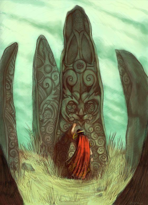 The King in the Graveyard by ~Nhaar on deviantART