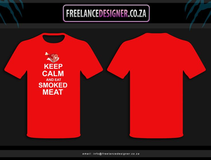 Keep Calm Tshirt Design. Done by Jacqueline Tasker
