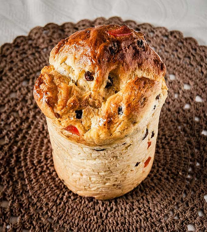 Kulich, a Russian Easter bread