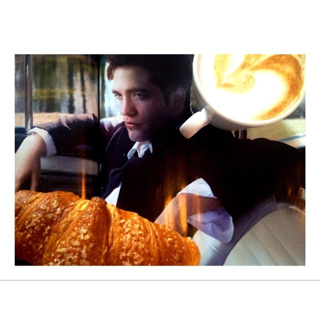 """Breakfast with Robert """"Cullen"""" ;-)"""