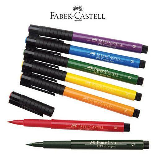 Faber Castell Usa 167414 Pitt Artist Brush Pen Light Skin Afflink