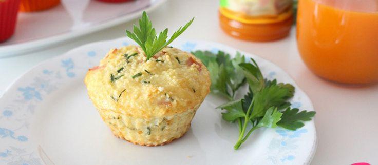 Muffinki jajeczne z kaszą kuskus na śniadanie