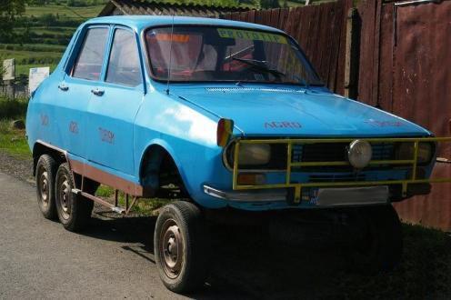Rashnitze Auto: Dacia 1300 cu 6 roti