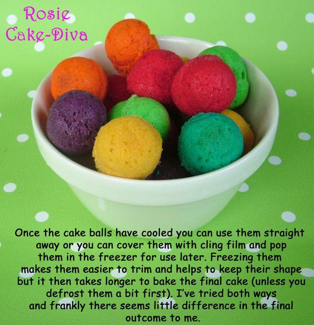 Spotty Dotty Cake Tutorial - by RosieCakeDiva @ CakesDecor.com - cake decorating website