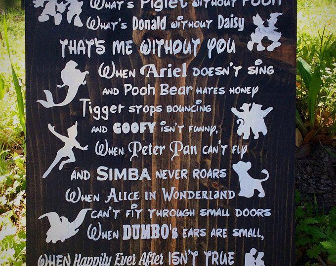 25 Unique Disney Sign Ideas On Pinterest Disney Sayings