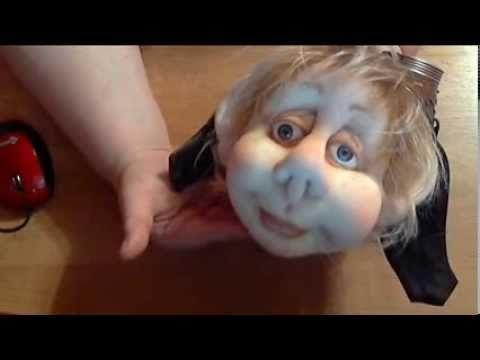 """Провожу Курсы и Мастер-классы: """"Авторская кукла в технике """"Скульптурный текстиль"""". (метод утяжек) - YouTube"""