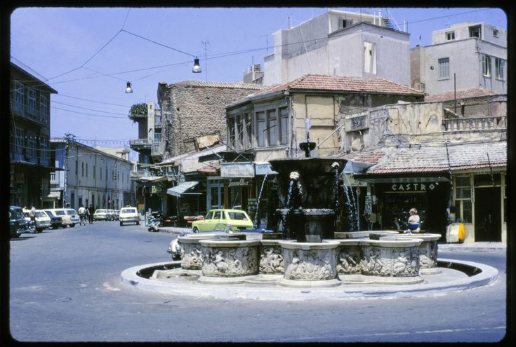 Heraklion, Crete, Liontaria Square  1971 | by Colin John Ford/eyedot,Flickr