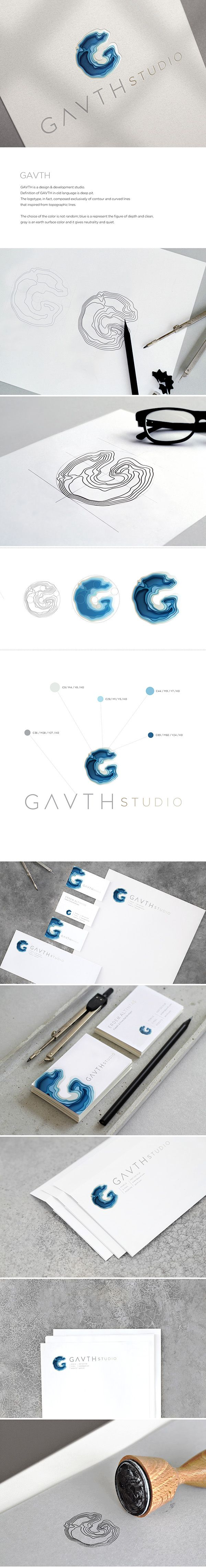 Gavth Studio Logo & Visual Identity on Behance