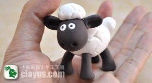 Anleitung für Shaun das Schaf aus Fondant