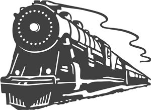 express template engines - 254 best images about train silhouettes vectors