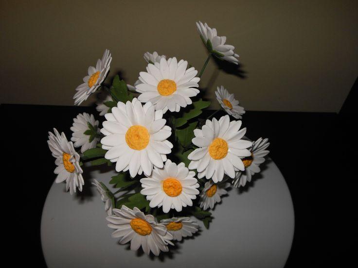 margaretki - daisies, kwiaty cukrowe
