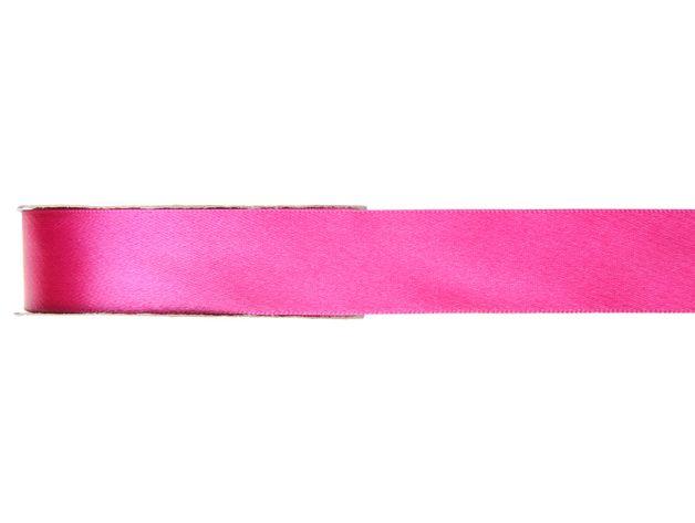 Dieses glänzende pinke Satinband eignet sich hervorragend zum Verpacken von Geschenken, zum Verzieren von Bastelarbeiten und als Deko. Das Band ist etwa 3 mm breit und hat eine Länge von 50 m.
