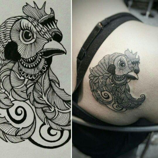Chicken tattoo                                                                                                                                                                                 More