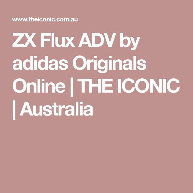 ZX Flux ADV by adidas Originals Online   THE ICONIC   Australia