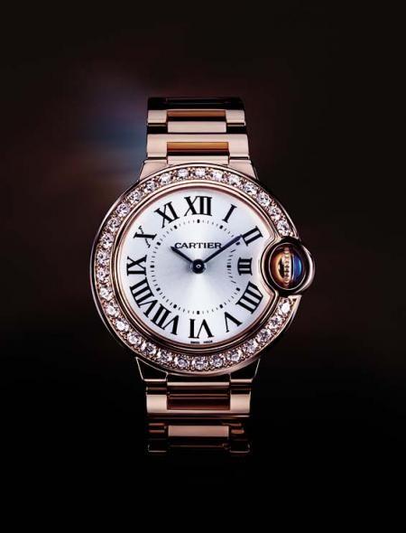 The rarely seen Cartier.