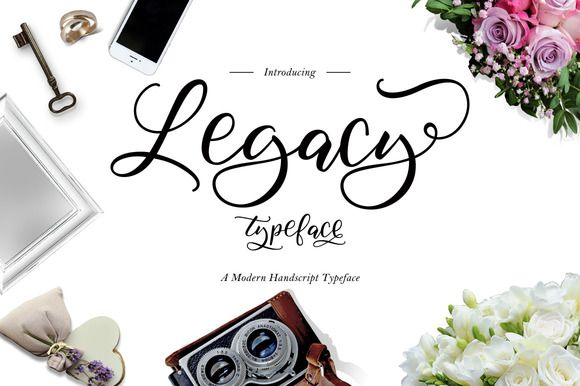 Legacy Typeface by thirtypath on @creativemarket