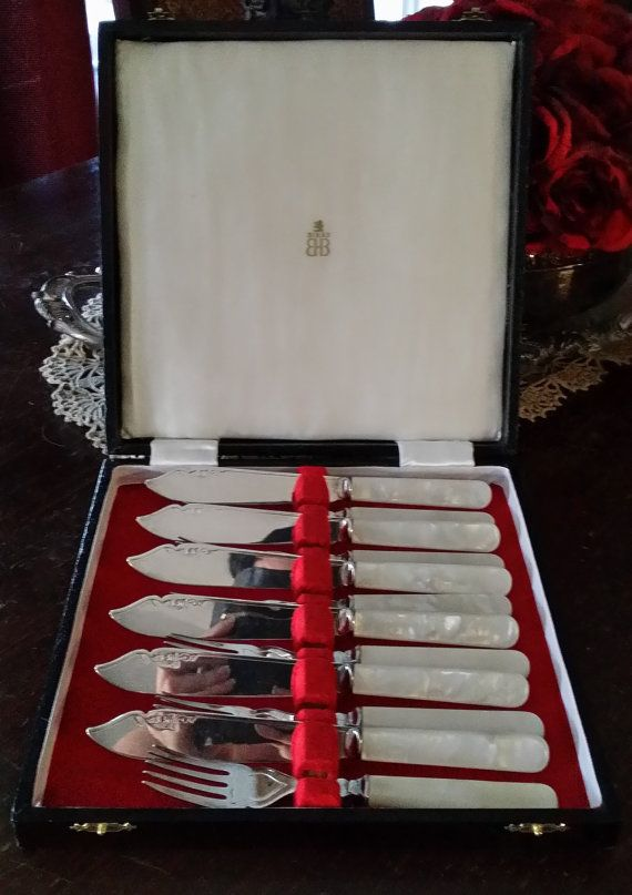 Birks Silver Cutlery Set 12 pc Set in by DeAnnaLyn…