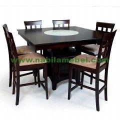 Meja Makan Jati Minimalis Jakarta produk furnture jepara dengan kualitas terbaik kami jual dengan harga murah