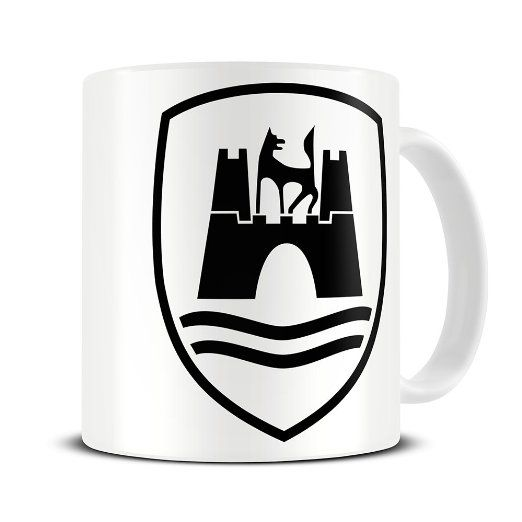 mg080 magoo wolfsburg crest mug gift for vw owners. Black Bedroom Furniture Sets. Home Design Ideas