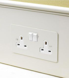 article on the Forbes and Lomax switches and sockets - the painted socket range