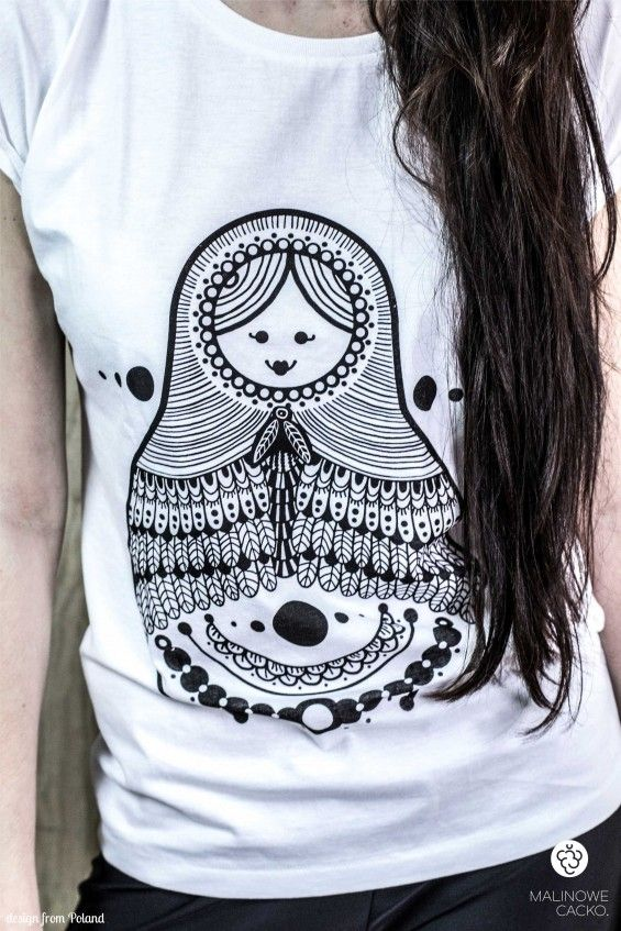 Koszulka damska Matrioszka