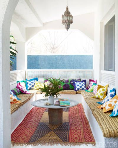 Liza Bruce's Home On The Adriatic Coast In Southern Italy. Nine pics of her fab beach house from Elle Decor.